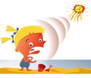 Sunburned-Child-Clipart